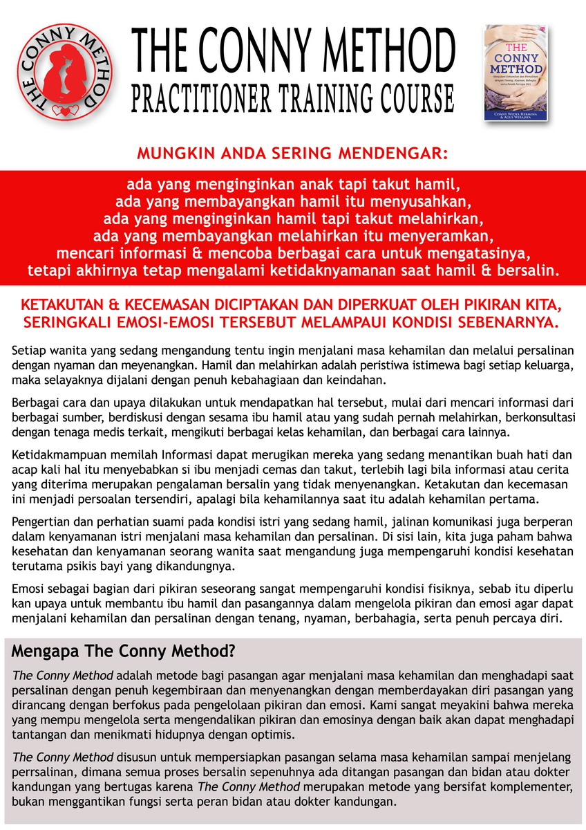 The Conny Method Flyer PTC- hal 1a